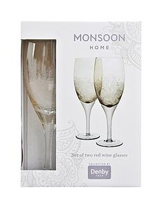 denby-monsoon-lucille-gold-set-of-2-red-wine-glasses