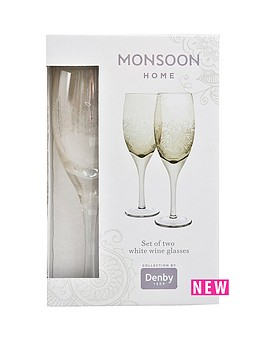 denby-monsoon-lucille-gold-white-wine-pack-of-2