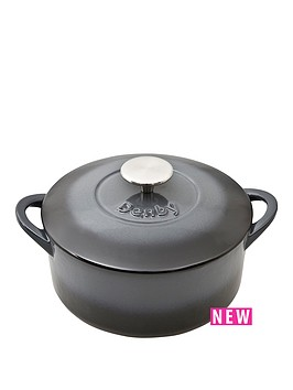 denby-denby-halo-cast-iron-20cm-round-casserole