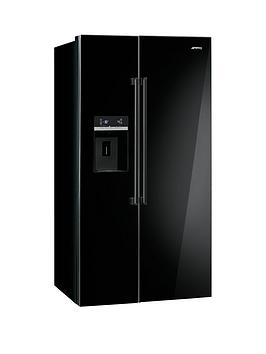 smeg-sbs63nednbspamerican-style-2-door-no-frost-fridge-freezer-black