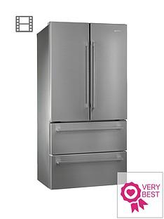 smeg-fq55fx-1-american-style-2-door-2-drawer-frost-free-fridge-freezer