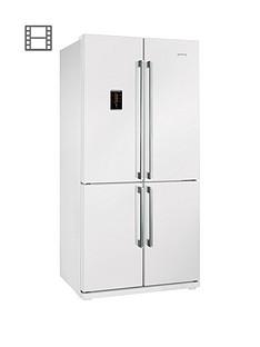 Smeg FQ60BPEAmerican Style 4-Door No Frost Fridge Freezer