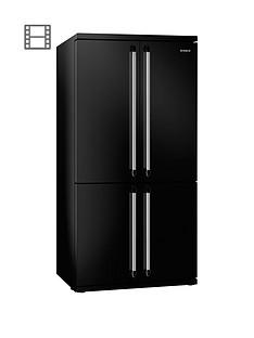 Smeg FQ960NAmerican Style 4-Door No Frost Fridge Freezer