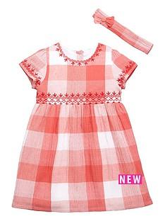 mini-v-by-very-girls-cheesecloth-embroidered-check-dress-and-headband-set