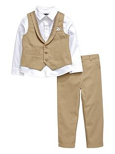mini-v-by-very-boys-herringbone-shirt-waistcoat-and-trousers-set-3-piece