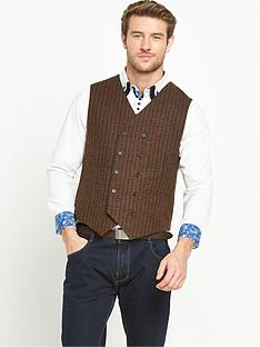joe-browns-check-waistcoat