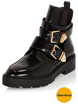 river-island-rudy-cut-out-chunky-ankle-boot-black
