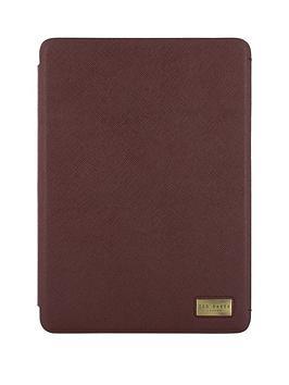 ted-baker-ipad-pro-97-folio-caine-oxblood