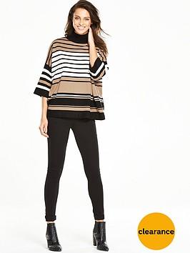 wallis-striped-boxy-jumper-stone
