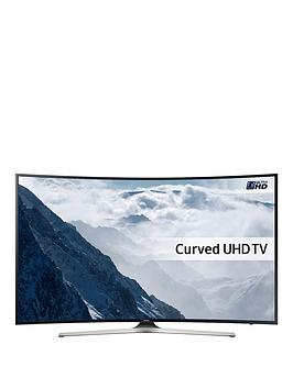 Samsung 65 Inch Certified Uhd, Curved Smart Led Tv With Hdr Ue65Ku6100Kxxu