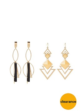 v-by-very-2-pack-statement-earrings