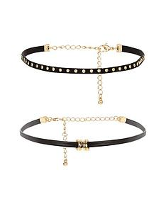 v-by-very-2-pack-skinny-choker-set