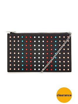 v-by-very-colour-pop-studded-pouch-clutch-bag