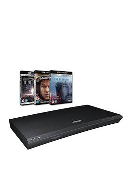 samsung-ubd-k8500xunbspultra-hd-blu-ray-player-withnbsp3-complimentary-uhdnbspblu-ray-discs