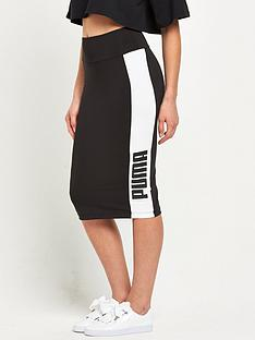 puma-archive-logo-pencil-skirt