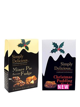 christmas-pudding-amp-mince-pie-fudge-selection-150g-x-2