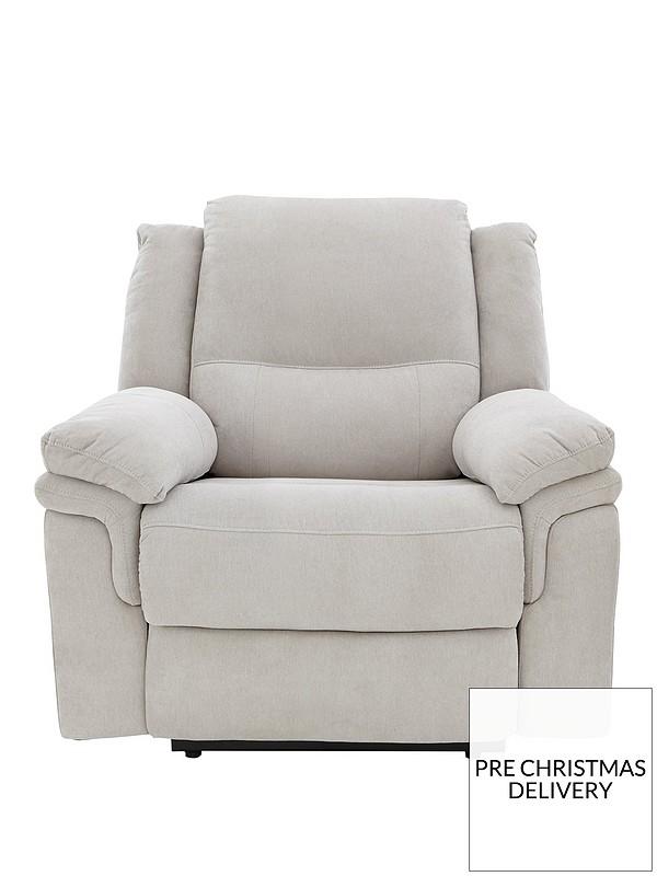Stupendous Albion Fabric Manual Recliner Armchair Spiritservingveterans Wood Chair Design Ideas Spiritservingveteransorg