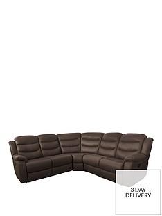 Leather Corner Sofas | Very.co.uk
