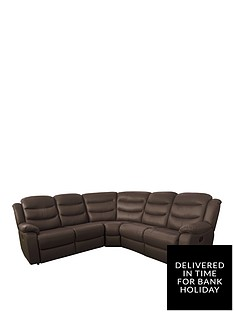 Leather Corner Sofas | Very.co.uk