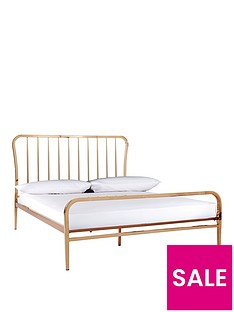 ideal-home-webster-metal-double-bed-frame