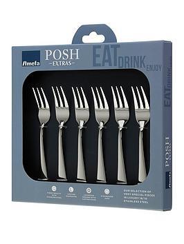 amefa-oxford-6pc-posh-extra039s-pastry-forks