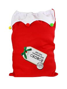 personalised-special-delivery-plush-christmas-sack
