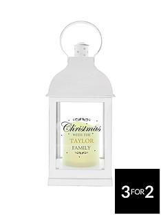 personalised-white-christmas-lantern