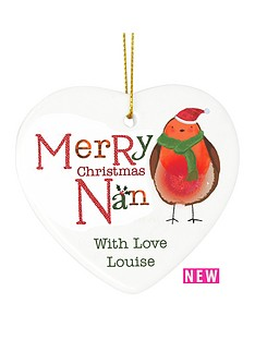 personalised-christmas-robin-nan-ceramic-heart