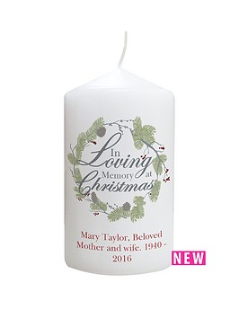 personalised-in-loving-memory-at-christmas-candle