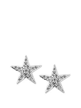 links-of-london-links-of-london-sterling-silver-diamond-set-star-stud-earrings