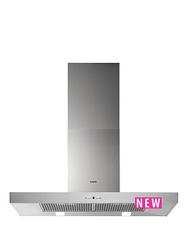 aeg-x69264md1-low-profile-90cm-chimney-cooker-hood-stainless-steel