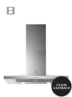 aeg-x69264mk1-low-profile-90cm-chimney-cooker-hood-stainless-steel
