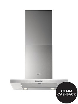 aeg-x66163mk1-low-profile-60cm-chimney-cooker-hood-stainless-steel