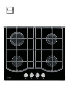 aeg-hg653430nb-59cm-wide-gas-hob-black-glass