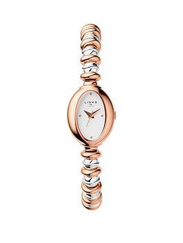 links-of-london-links-of-london-staineless-steel-rose-gold-sweetheart-bracelet-ladies-watch