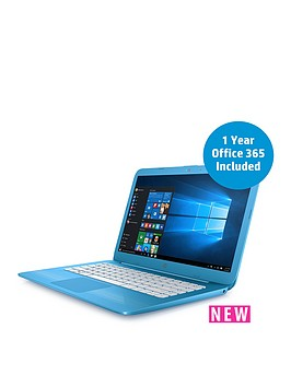 hp-stream-14--ax000na-intel-celeron-processor-4gb-ram-32gb-storage-14in-laptop-with-microsoft-office-365-personal-and-1tb-onedrive-cloud-storage-blue