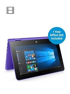 hp-pstream-x360-11-aa000na-intelreg-celeronreg-2gb-ram-32gb-storage-116-inch-touch-screen-laptop-with-12-months-office-365-personal-and-1tb-onedrive-cloud-storage-purplebr-br-p