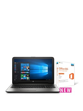 hp-15--ba047na-amd-a12-processor-8gb-ram-2tb-hard-drive-156in-full-hd-laptop-with-optional-microsoft-office-365-home-silver