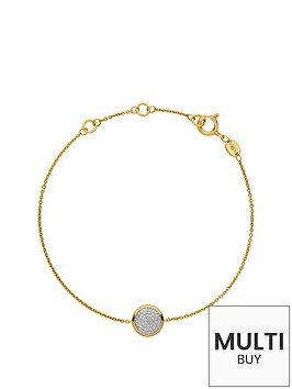 links-of-london-links-of-london-sterling-silver-18kt-gold-plated-diamond-set-round-bracelet-add-item-lxv4l-to-basket-to-receive-free-bracelet-with-purchase-for-limited-time-only