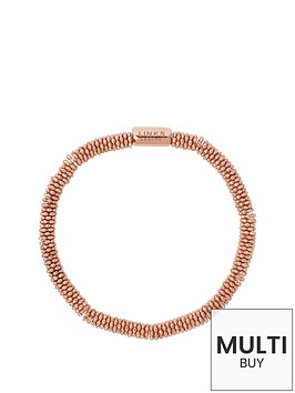 links-of-london-links-of-london-sterling-silver-18kt-rose-gold-plated-effervescence-star-xs-bracelet-add-item-lxv4l-to-basket-to-receive-free-bracelet-with-purchase-for-limited-time-only