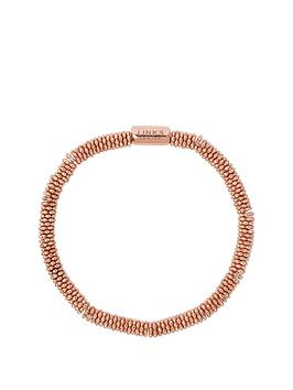 links-of-london-links-of-london-sterling-silver-18kt-rose-gold-plated-effervescence-star-xs-bracelet