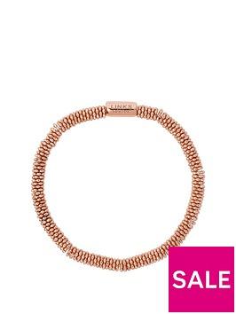 links-of-london-links-of-london-sterling-silver-18kt-rose-gold-plated-effervescence-star-xs-bracelet