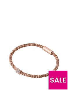 links-of-london-sterlingnbspsilver-rose-gold-plated-star-dust-bracelet