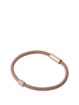 links-of-london-sterlingnbspsilver-rose-gold-plated-star-dust-bracelet