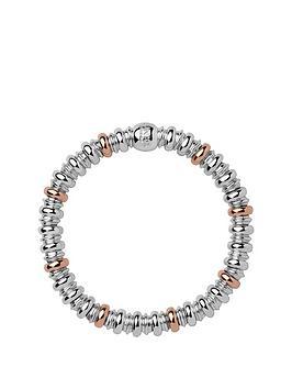 links-of-london-links-of-london-sterling-silver-and-18kt-rose-gold-plate-sweetheart-bracelet