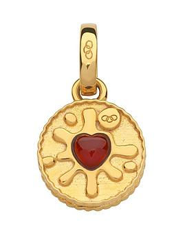 links-of-london-links-of-london-sterling-silver-18kt-gold-plate-jammie-dodger-biscuit-charm