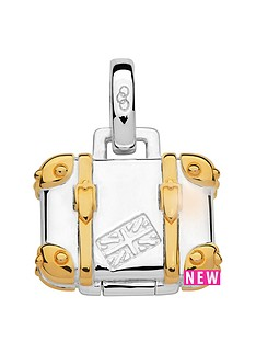 links-of-london-links-of-london-sterling-silver-18kt-gold-plate-suitcase-charm