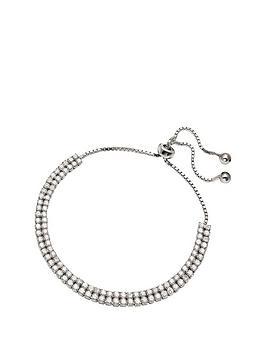 folli-follie-folli-follie-sterling-silver-and-cubic-zirconia-flower-blossom-bracelet