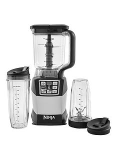 Nutri Ninja BL492UK Compact Blender Duo 1200-watt with Auto-iQ