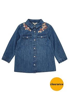 river-island-mini-girls-floral-stitch-denim-shirt